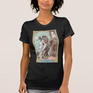 El búho de chillido espera al último marido camiseta