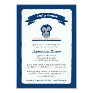 El búho de los azules marinos trae una invitación