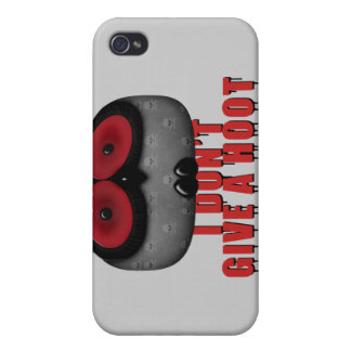 el búho del emo no da un pitido iPhone 4 funda