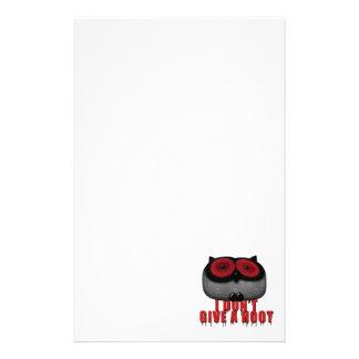 el búho del emo no da un pitido  papeleria de diseño