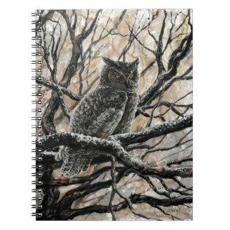 El búho del invierno cuadernos