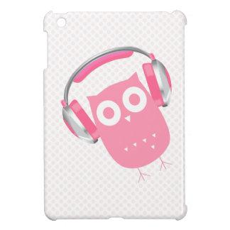 El búho esté escuchando la música {el mini caso de iPad mini carcasas