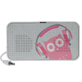 ¡El búho esté escuchando la música! iPod Altavoz