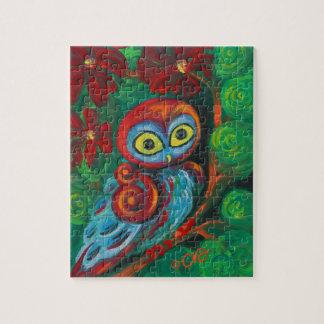 El búho moderno puzzles con fotos