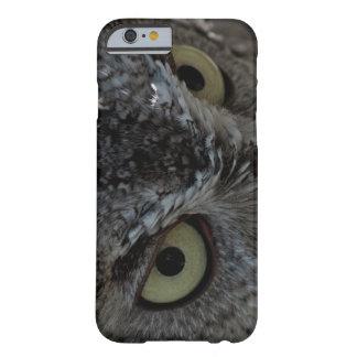 El búho observa el caso del iPhone 6 de la foto Funda De iPhone 6 Slim