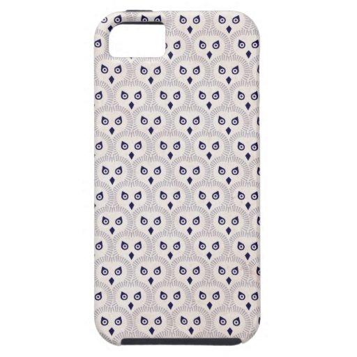 El búho observa en usted el caso del iPhone iPhone 5 Case-Mate Coberturas