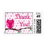 El búho rosado le agradece franqueo