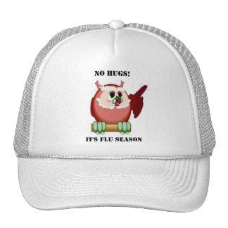 El búho sabio habla gorras