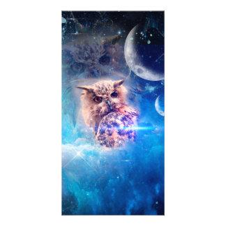 El búho tarjetas fotograficas personalizadas