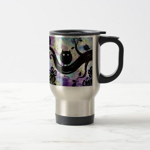 el búho tazas de café
