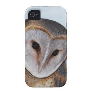 El búho viejo sabio Case-Mate iPhone 4 fundas