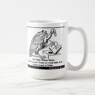 El buitre visiblemente vicioso taza de café