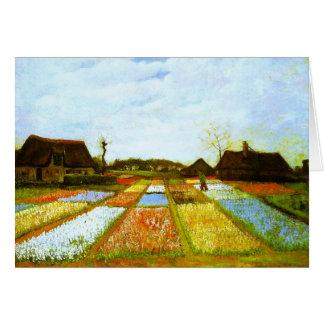 El bulbo coloca la bella arte de Holanda Van Gogh Tarjeta Pequeña