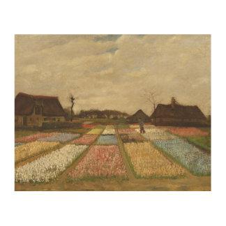 El bulbo de Vincent van Gogh coloca arte floral Impresión En Madera