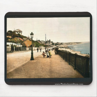 El bulevar marítimo, vintage Phot de Havre, Franci Tapetes De Raton