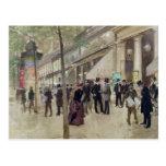 El bulevar Montmartre Postal