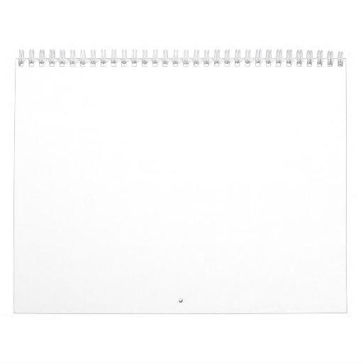 El BULTO hace calendarios el en blanco 2015 o