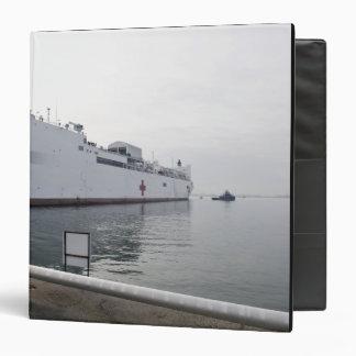 """El buque hospital militar del comando del Sealift Carpeta 1 1/2"""""""