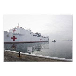 El buque hospital militar del comando del Sealift Fotografías