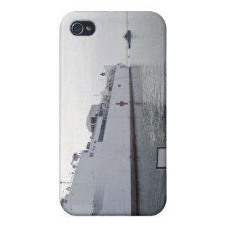 El buque hospital militar del comando del Sealift iPhone 4 Funda