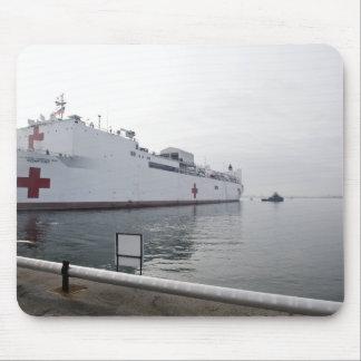 El buque hospital militar del comando del Sealift Mousepad