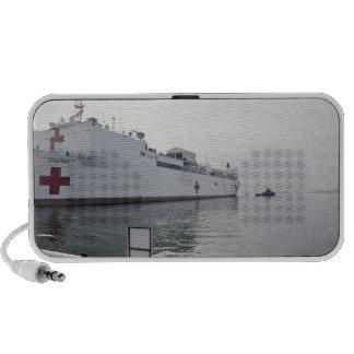 El buque hospital militar del comando del Sealift Portátil Altavoces