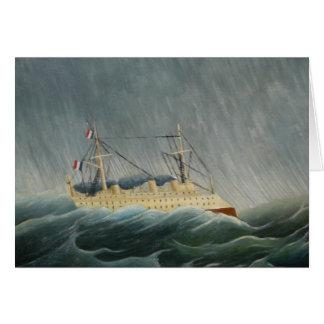 El buque sacudido por la tempestad felicitaciones