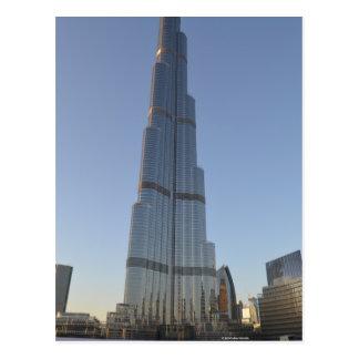 El Burj Khalifa Tarjeta Postal