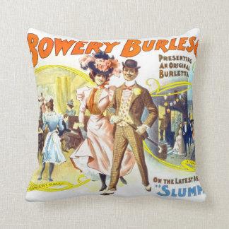 El Burlesquers frondoso, almohada de MoJo del amer