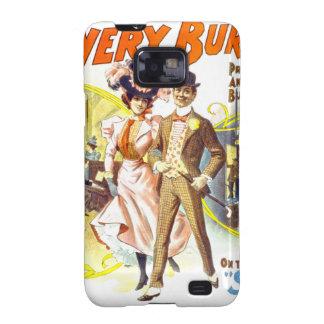 El Burlesquers frondoso, caja de la casamata de Galaxy SII Fundas