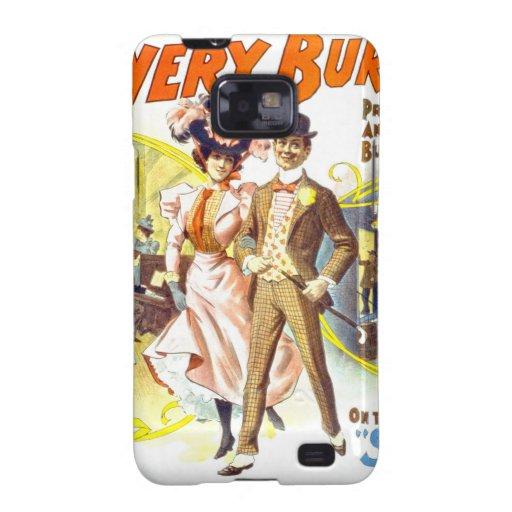 El Burlesquers frondoso, caja de la casamata de Samsung Galaxy SII Fundas