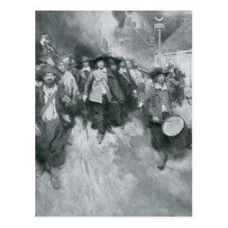 El Burning de Jamestown Tarjeta Postal