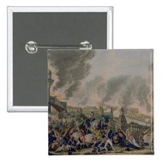 El Burning de Moscú, el 15 de septiembre de 1812,  Pin Cuadrada 5 Cm