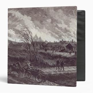 "El burning de Stry, cerca de Lemberg Carpeta 1 1/2"""