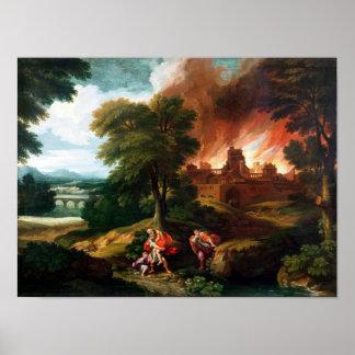 El Burning de Troy Póster