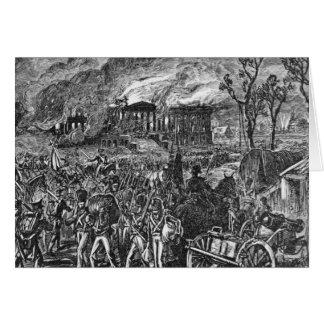 El Burning de Washington, 1814 Tarjetas