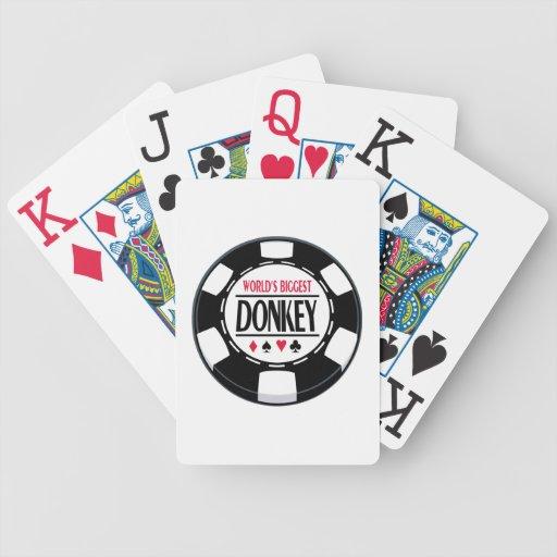 El burro más grande del mundo cartas de juego