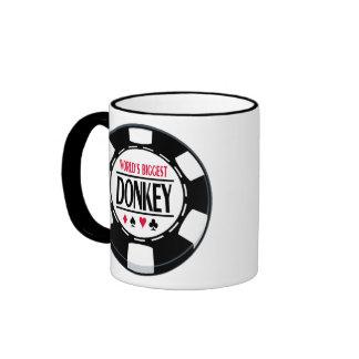El burro más grande del mundo taza de café