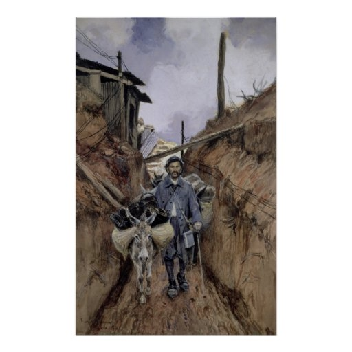 El burro, Somme, 1916 Posters