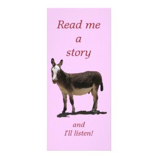 El burro tiene señal de los niños lindos de la col lonas personalizadas