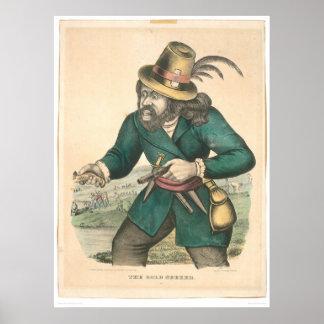 El buscador del oro (0638A) Póster