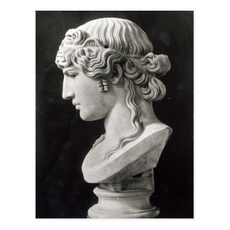 El busto de Antinous llamó Antinous Mondragone Tarjeta Postal