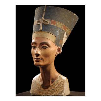 El busto de la reina Nefertiti Postales