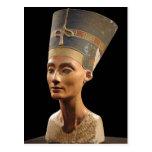 El busto de la reina Nefertiti Tarjeta Postal