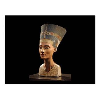 El busto de la reina Nefertiti Tarjetas Postales