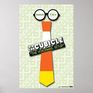 """""""El buzón de voz puso"""" el poster del """"theCUBICLE """""""