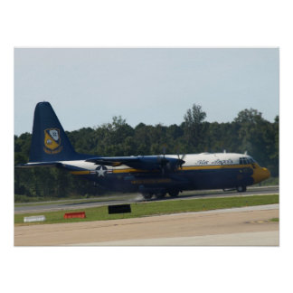 "El C-130 Hércules ""Albert gordo"" de los ángeles az Póster"