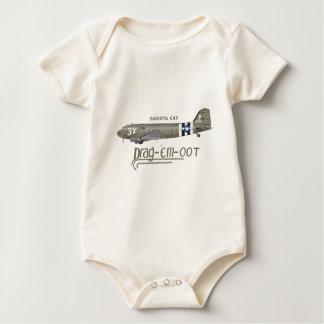 El C-47 SKYTRAIN de DAKOTA - ARRÁSTRELOS OOT Body Para Bebé