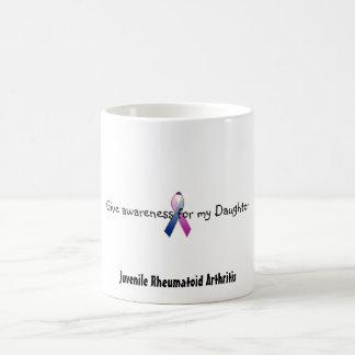 el c_purpleblue, da la conciencia para mi hija, J… Taza Básica Blanca