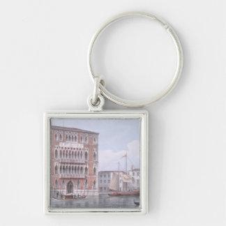 El Ca Foscari Venecia grabada por Brizeghel li Llavero